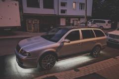 Škoda Octavia 1 tuning - podsvícení