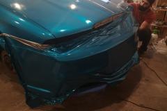 Škoda Octavia 1 tuning - 3M Atomic Teal