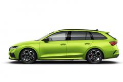Škoda Octavia 4 RS Combi  - Zelená Mamba