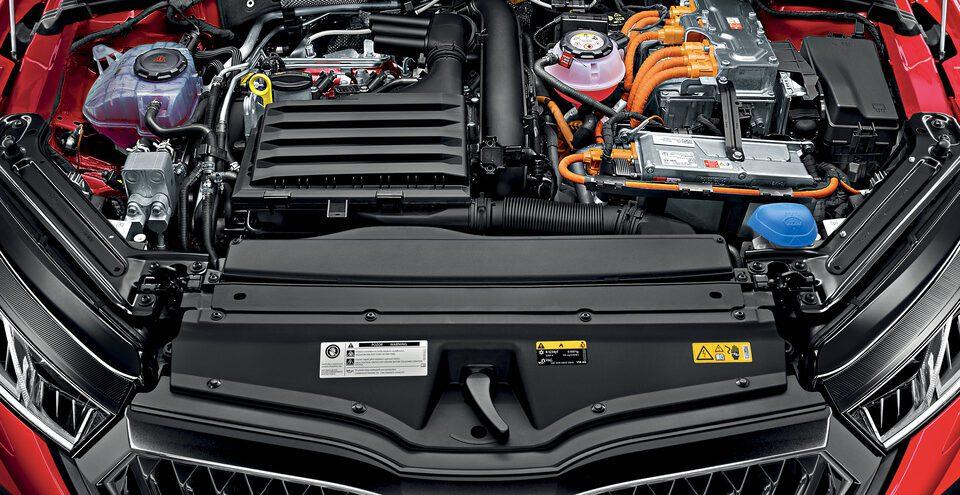 Octavia 4 RS iV PHEV - plug in hybrid motor