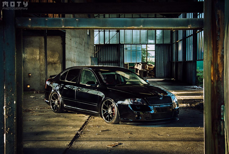 Škoda Octavia 2 Tuning - světla