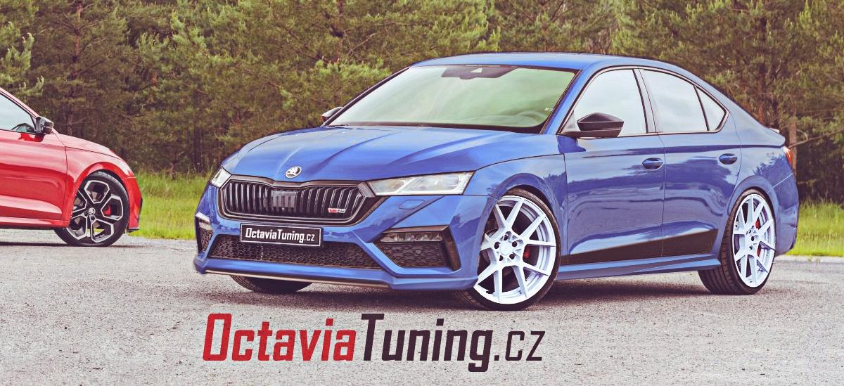 Škoda Octavia 4 RS iV tuning