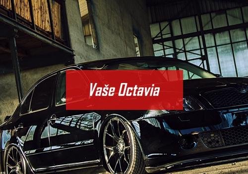 Škoda Octavia tuning - Vaše upravená Octavia