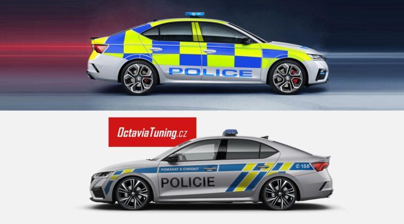 Škoda Octavia 4 RS Tuning - Policie