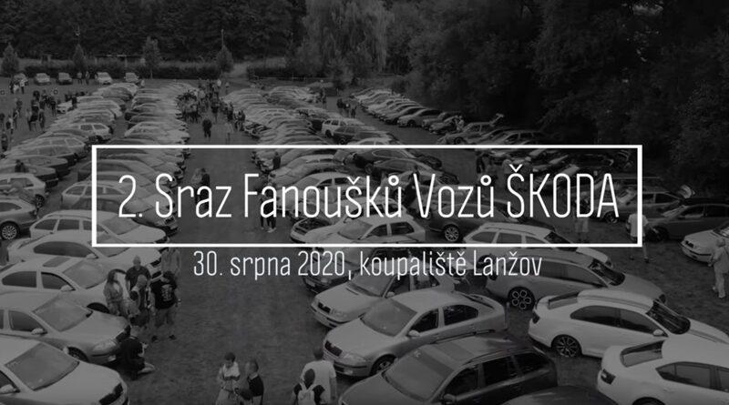 Škoda sraz Lanžov - 30.8.2020