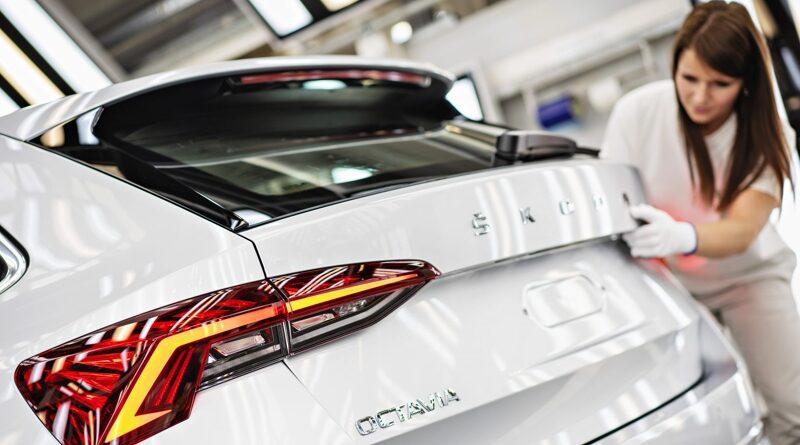 Škoda Octavia 4 - výroba v Mladé Boleslavi