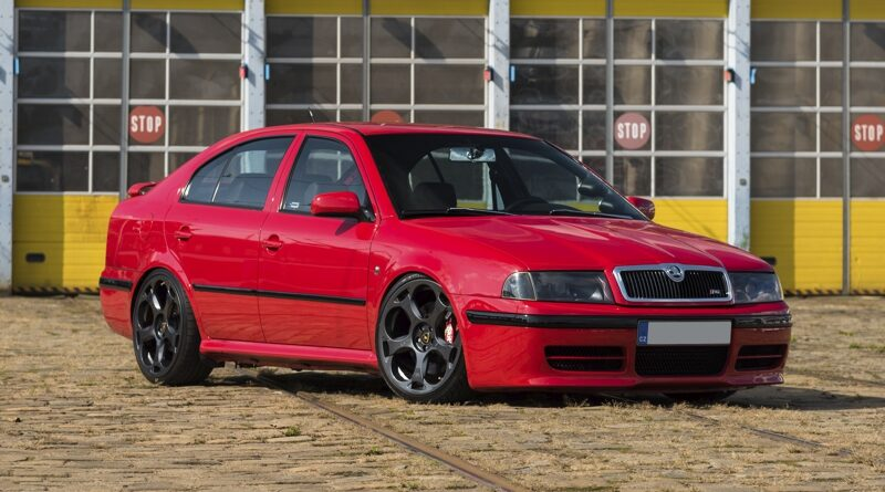Škoda Octavia 1 RS Tuning - Skittles