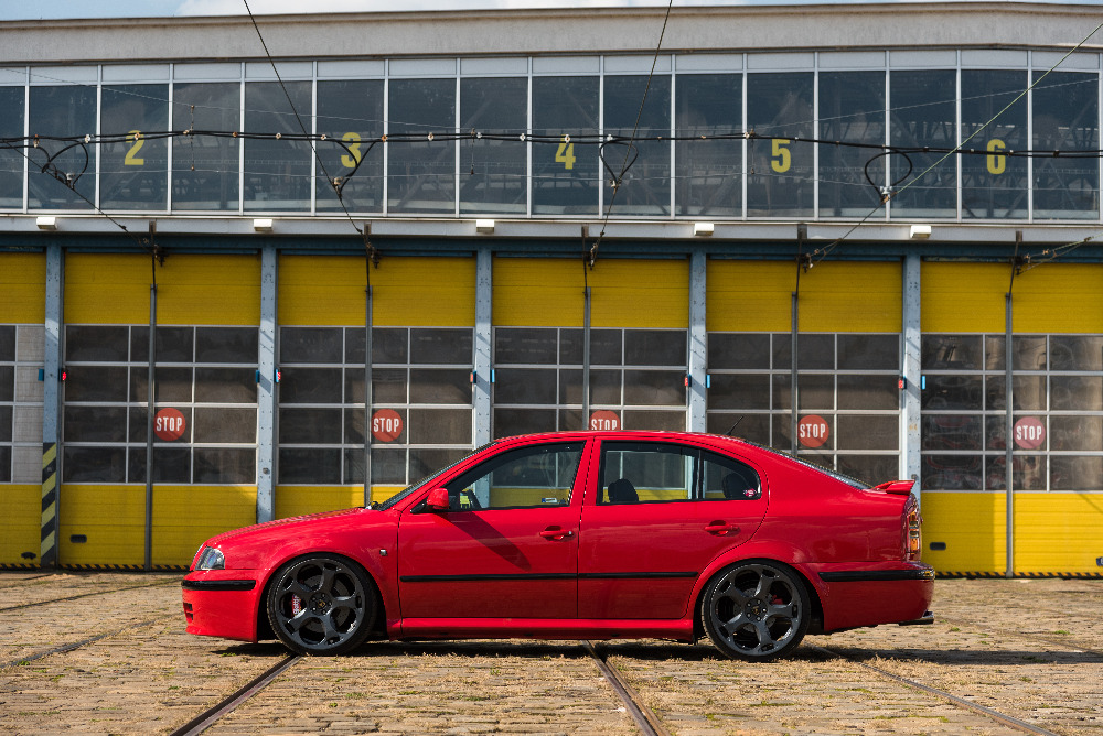 Škoda Octavia 1 RS recenze - tuning