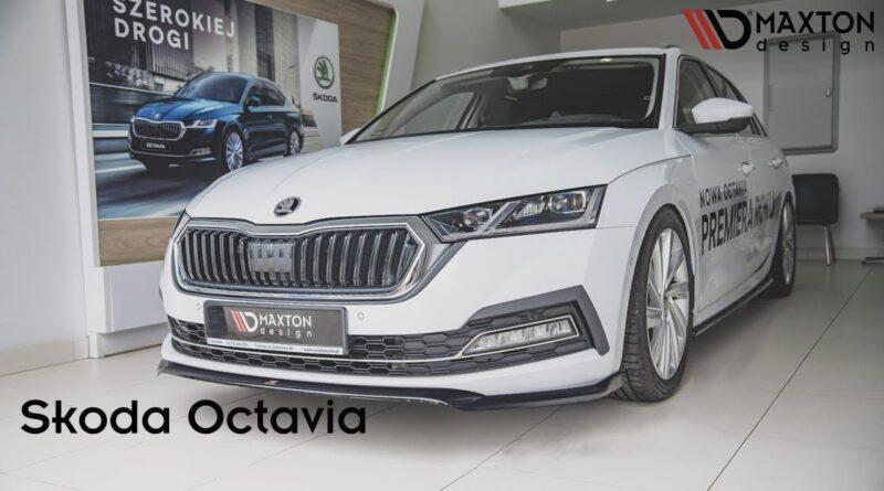 Škoda Octavia 4 tuning - Maxton Design