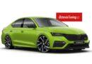 Nová barva pro Octavii 4 RS: Zelená Mamba