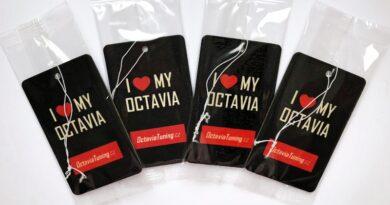 Nejlepší vůně do auta: I ♥ Octavia
