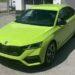 Škoda Octavia 4 RS - Zelená Mamba